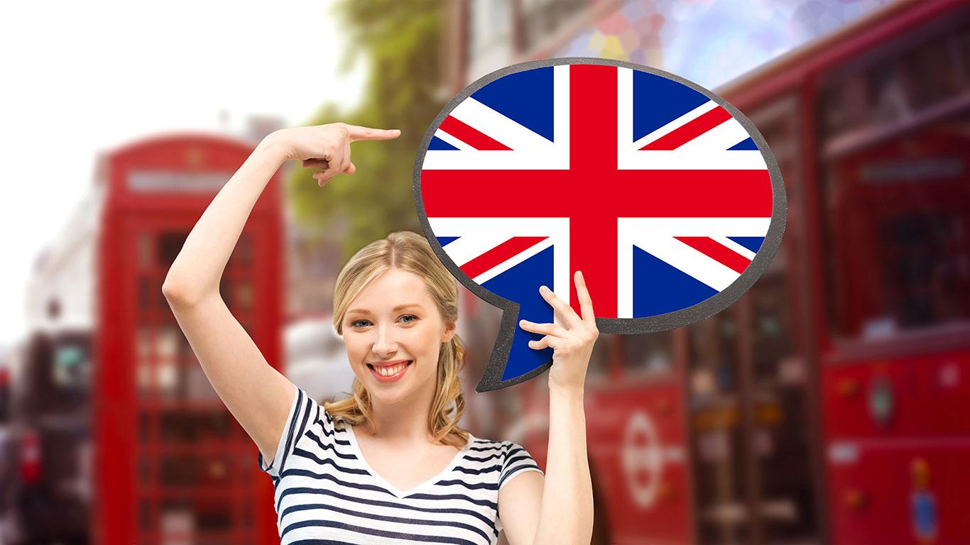 Mulher e Ônibus Inglês