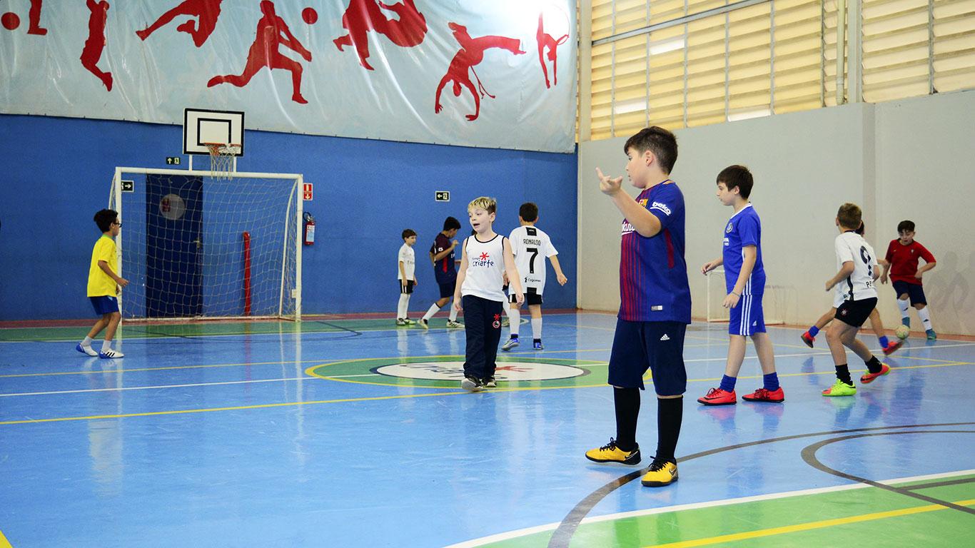 Futebol no Colégio Criarte